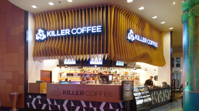 Killer Coffee Paddle Fins