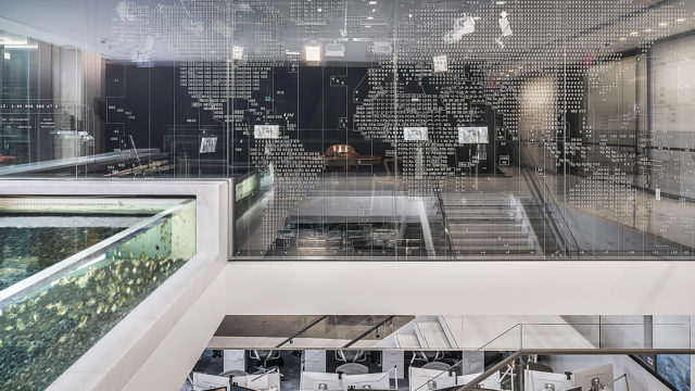 Bloomberg HQ Environmental Graphics