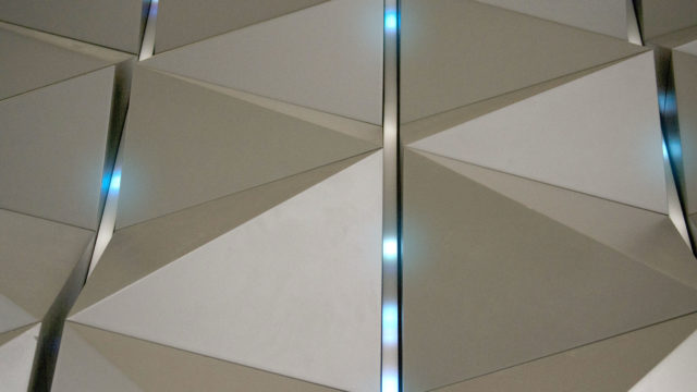 Reactive LED Wall Feature