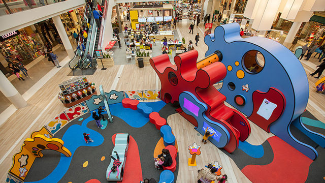 Yorktown Mall Play Area